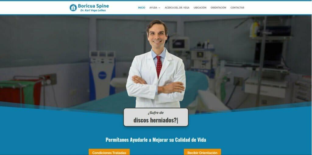 Boricua Spine Dr Karl Vega Lelkes