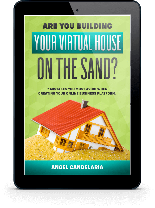 virtual house on the sand